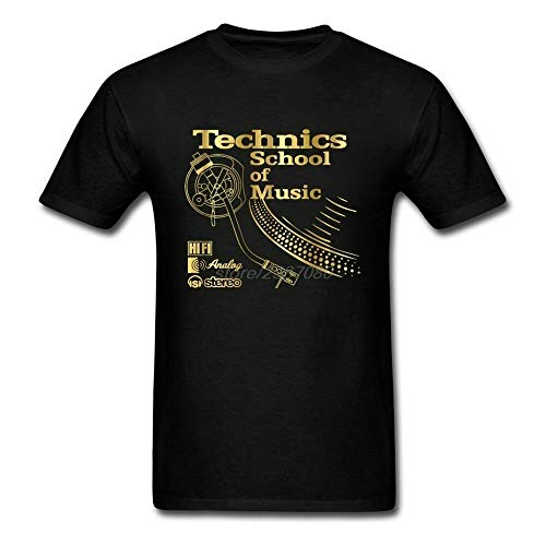 Technics Logo T Shirt Funny Birthday Cotton tee Vintage Gift For Men Women