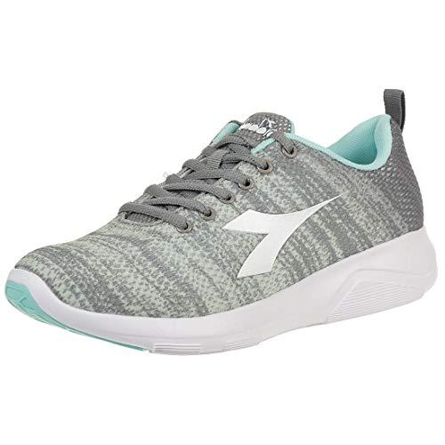 Diadora X Run Light 3 W Damen Laufschuh Sneaker Turnschuh grau, Schuhgröße:42 EU