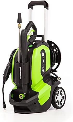 Greenworks GPW2005 Pressure Washer 2000 PSI green product image