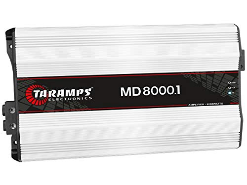 Best Deals! Taramp's MD 8000.1 2 Ohms 8000 Watts Class D Full Range Mono Amplifier
