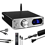 FX AUDIO 2.1 Channel Bluetooth Power Amplifier Home Audio Class D Amplifier with Subwoofer Output...
