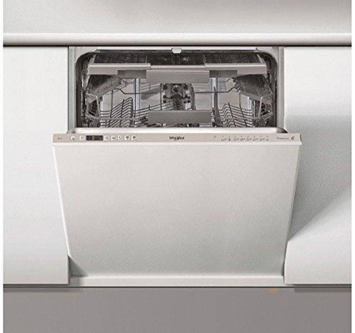 Whirlpool WIC 3C24 PS F E Totalmente integrado 14 plazas, A++ lavavajillas - Lavavajillas (Totalmente integrado, Tamaño máximo (60 cm), Gris, botones, 1,3 m, 1,55 m)