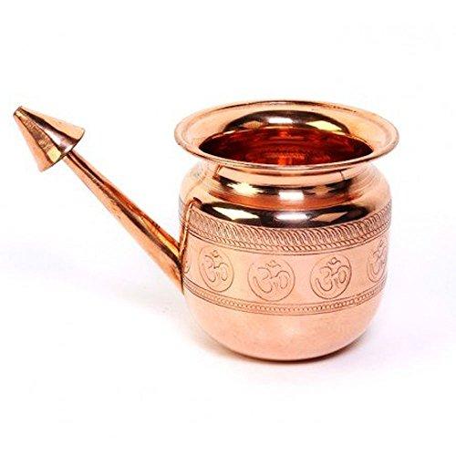Blomideal (TM) Food Grade Pure Copper Jala Neti Pot (500 ml)