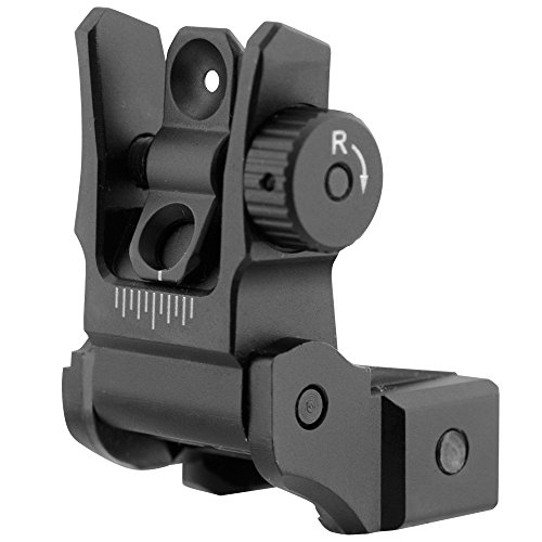 UTG Super Slim Flip-up Rear Sight