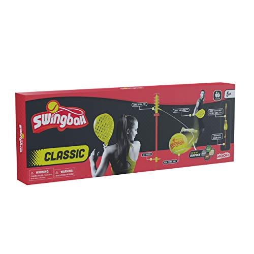 Mookie Swingball Classic, rood-geel, standaard