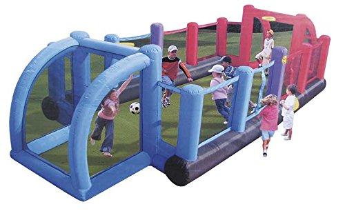 Happy Hop–aufblasbar Feld Futbol, 800x 330x 180cm (Swiftech 9072)