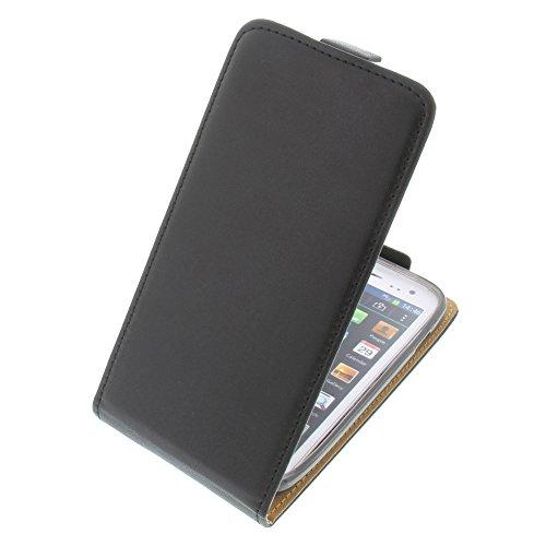 Tasche für Mobistel Cynus F4 Smartphone Flipstyle Schutz Hülle schwarz