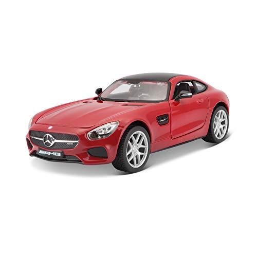 BBurago Maisto France - M31134 - Mercedes Benz AMG GT - Échelle 1/24 - Couleur aléatoire