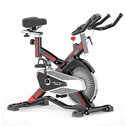 Best Buy! ZAIHW Indoor Cycling Bike Exercise Bike Stationary Commercial Standard, Ipad Mount, Soft C...