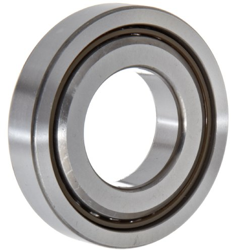 NSK 35TAC72BSUC10PN7B Ball Screw Support Bearing, Heavy Preload, 60° Contact Angle, Universal Bearing Arrangement, Straight Bore, Phenolic Cage, Metric, 35mm Bore, 72mm OD, 0.591