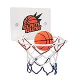 nlgzklsh Juguete de baloncesto para niños con diseño de aro de juguete para chupar en la pared con bomba