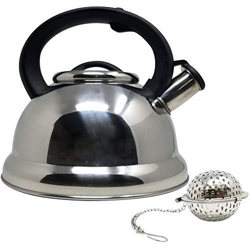 Mirror Finish Glass Kettle