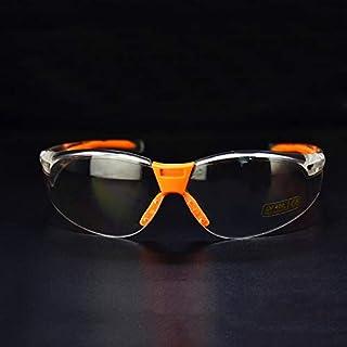 保護メガネ 作業用 ミラー、安全ゴーグル pc 目プロテクター安全メガネ労働砂防水印象的なにくい防塵セキュリティウインカー、保護メガネ ケース、保護メガネ クリアフレーム、保護メガネ ケース付き