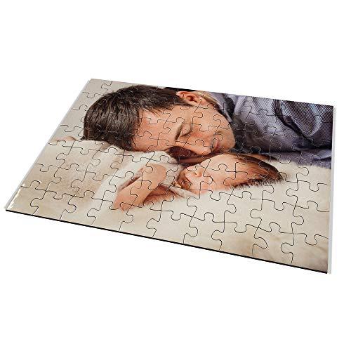 Puzzle Foto Bebe Personalizado. Personaliza con tu Foto. Puzzle Cartón Acabado Brillante. Varios tamaños. 70 Piezas