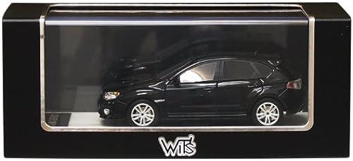 WIT'S 1 43 Subaru WRX STI A-Line typeS 5door Obsidian schwarz Pearl (japan import)