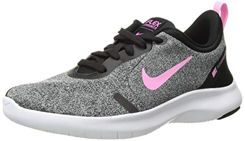 Nike Women's Flex Experience Run 8 Shoe, Pure Platinum/Psychic Pink-Black, 5.5 Wide US