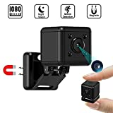 Spy Mini Camera|1080P Hidden Small Camera|Portable Tiny Nanny Cam with Night Vision and Motion Detection|Indoor Security Camera for Home, Car,Office, Outdoor with Magnetic Base|Hidden Spy Cam