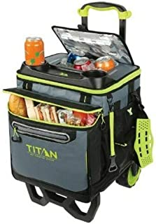 Arctic Zone Titan Deep Freeze Rolling Cooler - High Performance - 60 Can Capacity