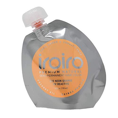 IROIRO Premium Natural Semi-Permanent Hair Color 320 Neon Orange (4oz)