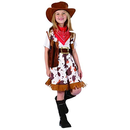 P'TIT Clown re98538 - Costume cow girl, taille L 10/12 ans