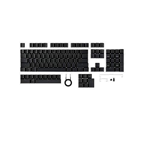 ASUS ROG PBT - Doubleshot Keycap Set para Gaming, Fabricado de PBT, Vástagos Acortados, Perfiles de Altura Media