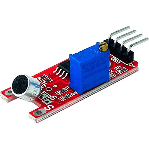 AZDelivery KY-038 High Sensitivity Sound Detection Small Microphone Module Compatible with Arduino including eBook