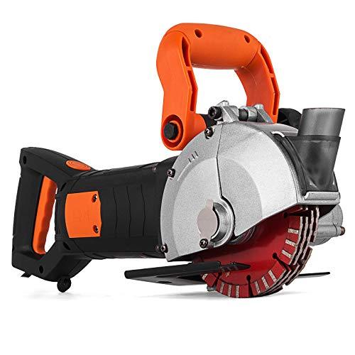 Mophorn K1331 Máquina Ranuradora de Corte para Pared 42 mm 4800W Máquina Eléctrica de Cazadora de Pared