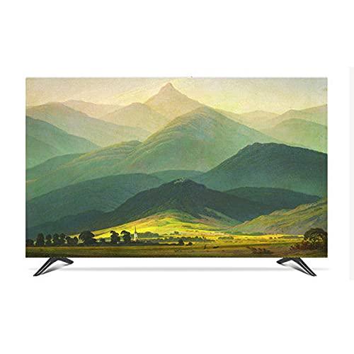 TV Stofdichte Cover, Premium Kwaliteit Rimpel Gratis Indoor Opknoping Lcd TV Dust Cover Doek Waterdichte Behuizing…