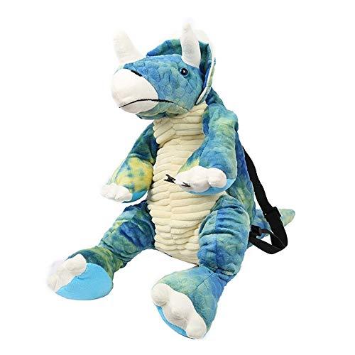 Mochila de dinosaurio 3D para niños, animal de dibujos animados, bolsa de dinosaurios para escuela primaria, niños y niñas