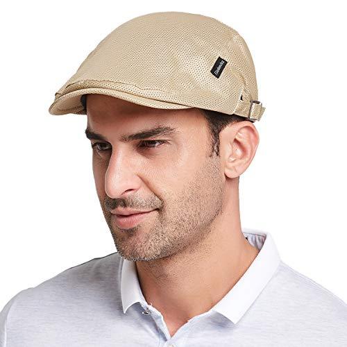 Gisdanchz ハンチング帽 ハンチング帽子 メンズ 春夏 メッシュ ハンチング メッシュキャップ キャップ メン...