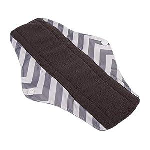 5 Colors Super Long Menstrual Pads,Washable Sanitary Towel Panty, Reusable Sanitary Pad, Overnight Long Panty Liners Skin-friendly Sanitary Napkins