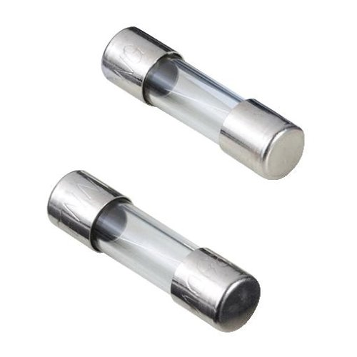 Hama Glassicherungs-Set (KFZ Feinsicherungs-Set, 5 x 20mm, 1A, 2A) 10 Stück