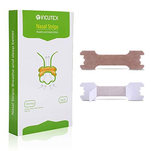 Incutex 100x tiras nasales contra los ronquidos tiritas