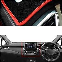 XQRYUB 車のダッシュボードカバーシリコンノンスリップ、トヨタカローラ E210 2019 に適合 -LHD RHD 自動ダッシュマット 2020 2021