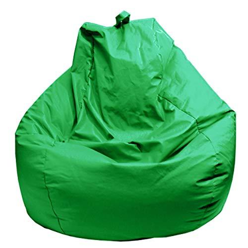 Gold Medal Bean Bags Bean Bag, Large, Green