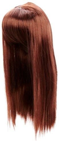 Love Hair Extensions - LHE/W/S/GGAGA/33 - Perruque Style Gaga - Couleur 33 - Cuivre Riche - 46 cm