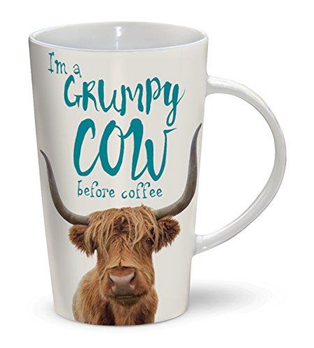I'm A Grumpy Cow Before Coffee Mug