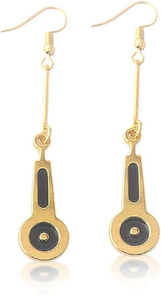 Anime JoJo Bizarre Adventure Earrings JOJO Bruno Bucciarati Zipper Cosplay Earrings For Women Men Cherry Stud Ear Jewelry Gift
