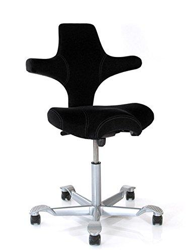 Bürostuhl Capisco 8106 - Comfort 0050 schwarz - HAG