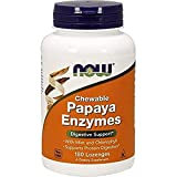 NOW FOODS Papaya Enzyme Chewable, 180 Count