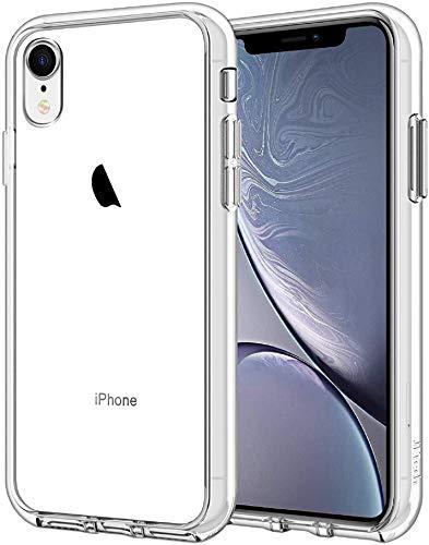 """JETech Custodia Compatibile iPhone XR 6,1"""", Cover Case con Assorbimento degli Urti, Trasparente HD Chiaro"""