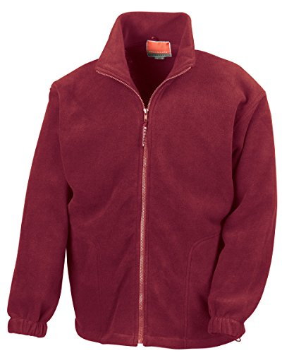 Result - Sweat-shirt - Homme - Rouge - Bordeaux - Large