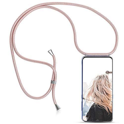 MXKOCO Funda con Cuerda para Xiaomi Redmi S2 Carcasa de movil con Cuerda para Colgar - Funda con Correa para Hombro y Cordón Colgante/Carcasa Banda con Cordon para Llevar en el Cuello