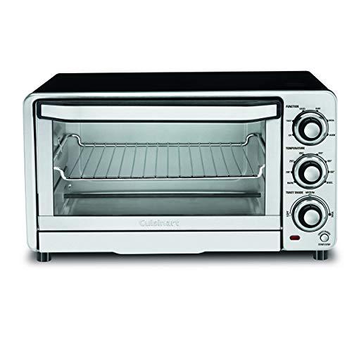 Cuisinart TOB-40N Custom Classic Toaster Oven Broiler,Black, 17 Inch
