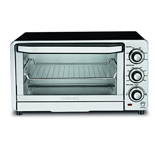 Our #4 Pick is the Cuisinart TOB-40N Custom Small Toaster Oven