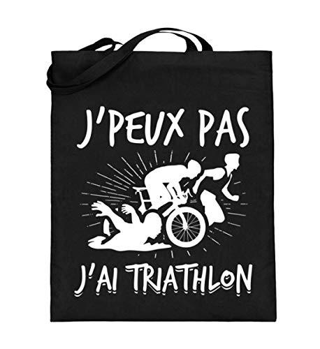 Chorchester J peux pas J ai Triathlon Sports - Sac de jute manche long
