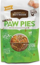 Rachael Ray Nutrish Chicken Paw Pies Real Meat Dog Treats, Family Style Chicken Recipe, 12 Ounces