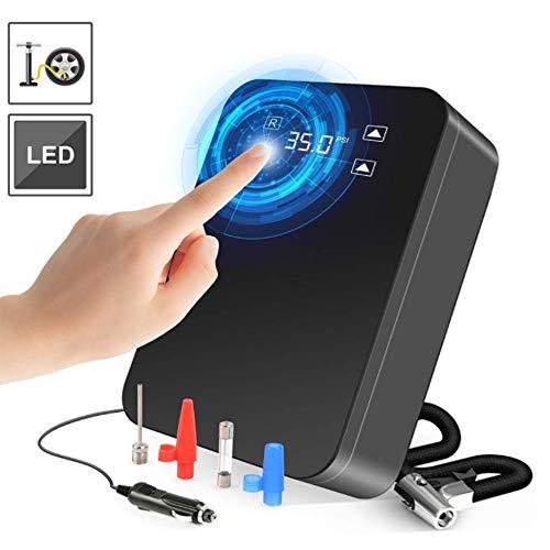 L&K Conception portative d'écran Tactile de gonfleur de Pneu de Digital Digital de la Pompe 12V 150 PSI de compresseur d'air de Voiture