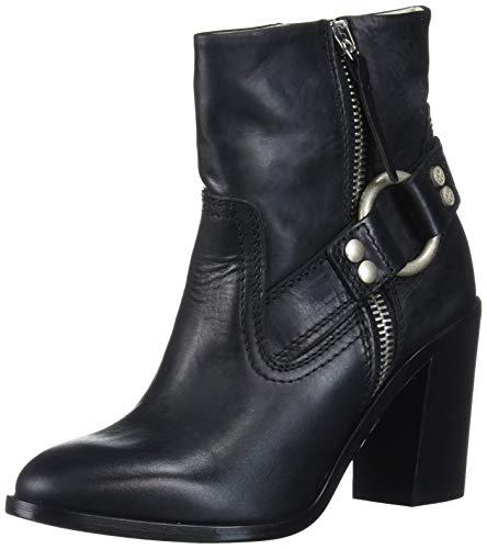 Diesel Damen D-Flamingo ABZ-Ankle Boot modischer Stiefel, schwarz, 36 EU