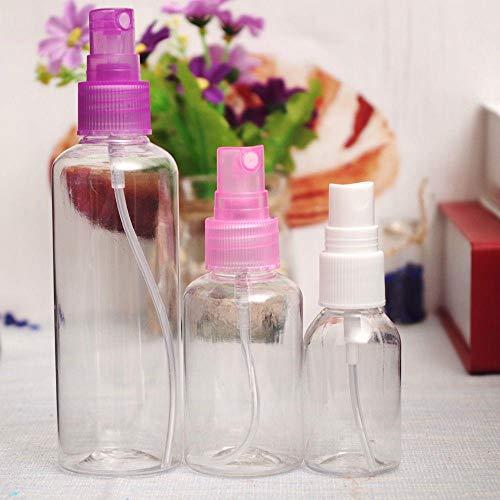 Weder Atomiseur de parfum en plastique transparent 30 ml, 50 ml, 100 ml, 100 ml